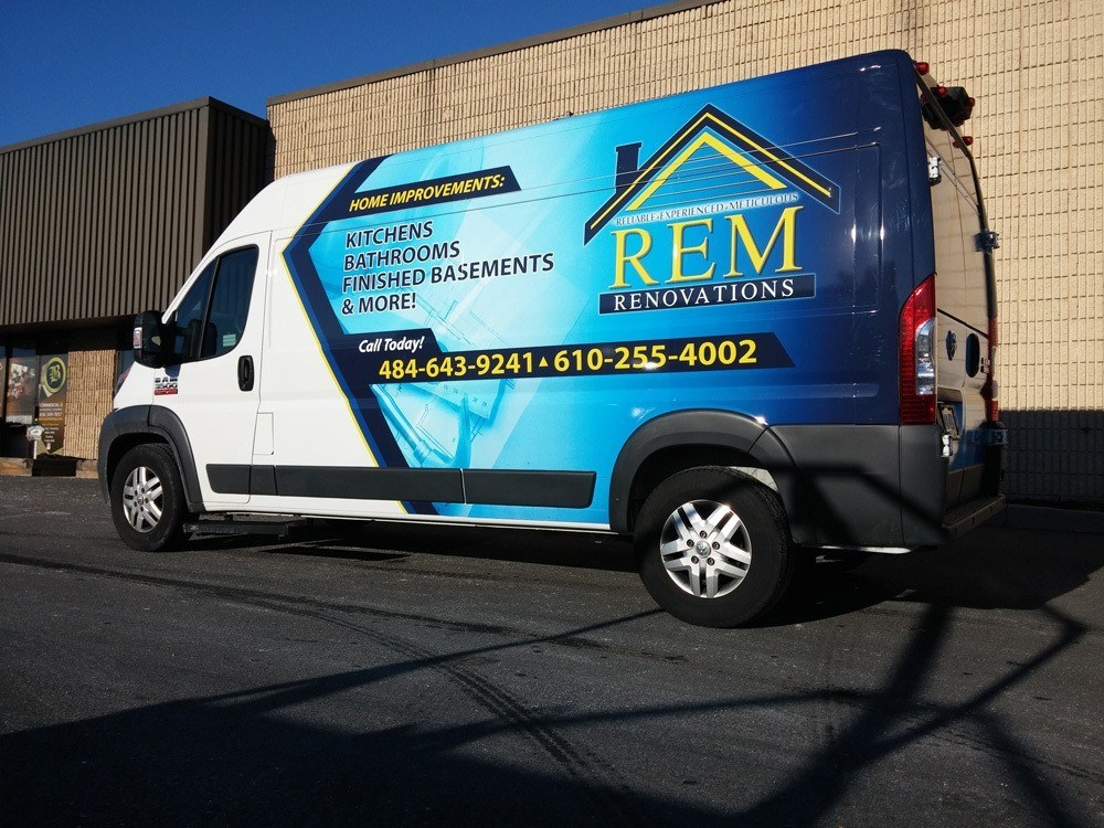 Commercial Vehicle Wraps South Windsor CT G Force Signs