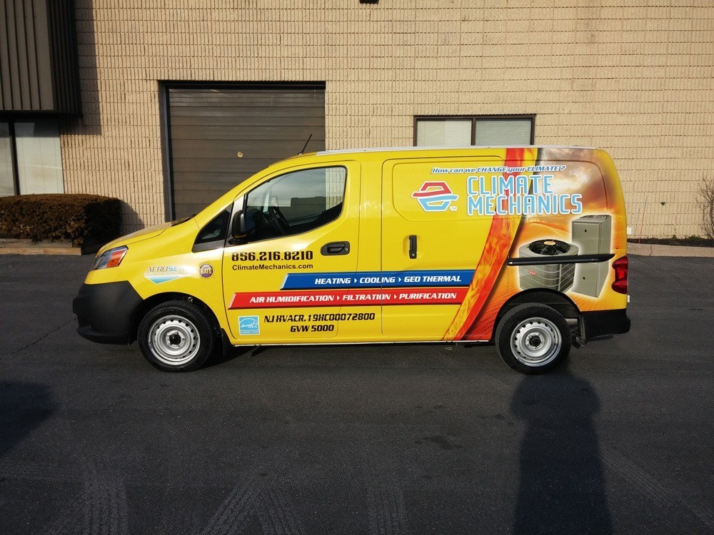 Commercial Vehicle Wraps West Hartford Ct G Force Signs