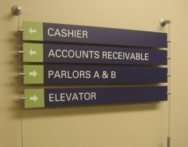 interior signs for offices in South Windsor CT