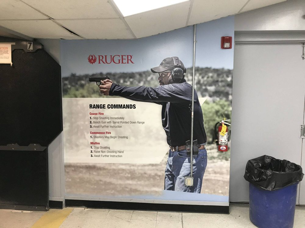 Ruger Wall Graphics in Wethersfield CT